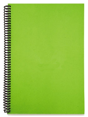 Greenspiralnotebook